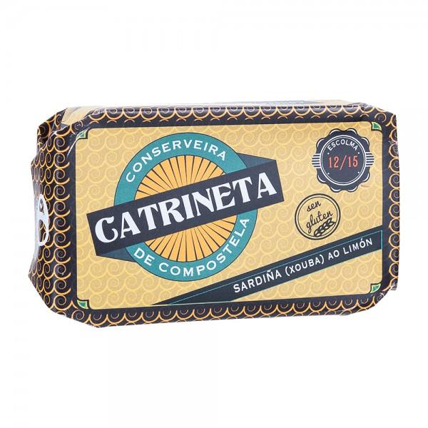 Catrineta Kleine Sardinen in Olivenöl mit Zitrone