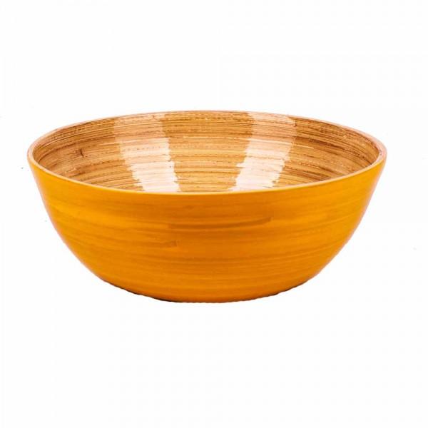 Albert L Schüssel Bambus 18x7 gelb