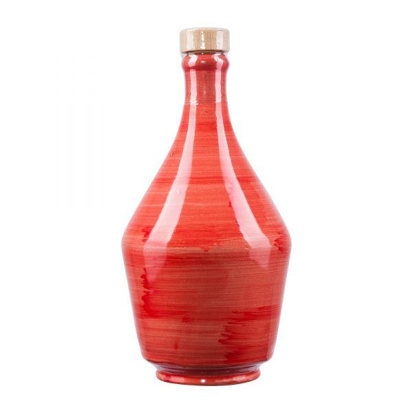 Frantoio di Perna   Olivenöl Extra Nativ   in Keramikflasche rot   500ml