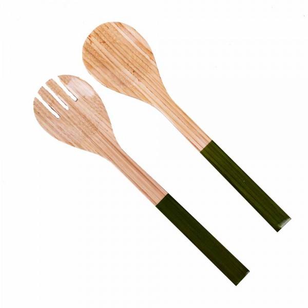 Albert L Besteck Bambus 28cm grasgrün
