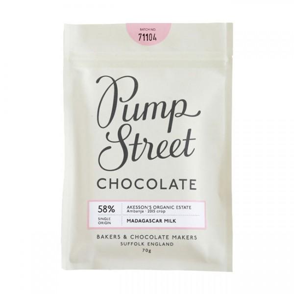Pump Street Chocolate | Madagascar Milk | 58%