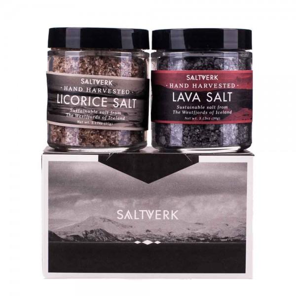 Saltverk Iceland Salt Geschenkset
