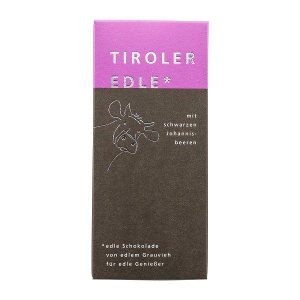 Tiroler Edle | Schokolade mit Johannisbeeren