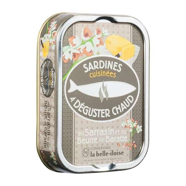 La belle-iIloise | Sardinen zum Braten mit Fassbutter und Buchweizen | 115g
