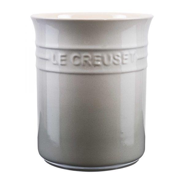 Le Creuset Topf für Kochkellen perlgrau