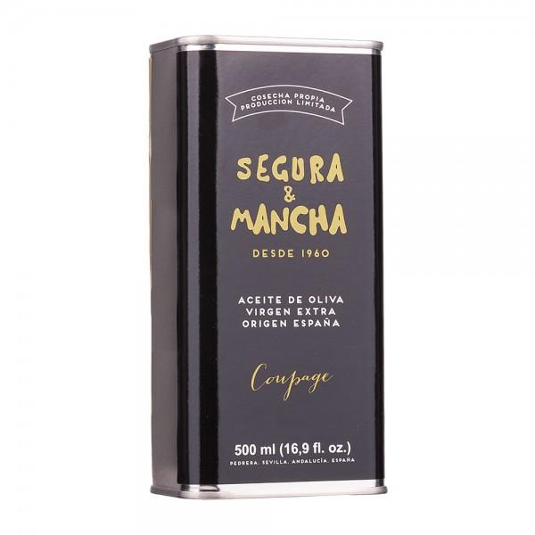 Segura & Mancha Olivenöl Coupage Extra Nativ Dose 500ml