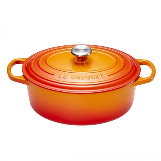 Le Creuset Bräter | Oval 27cm Ofenrot