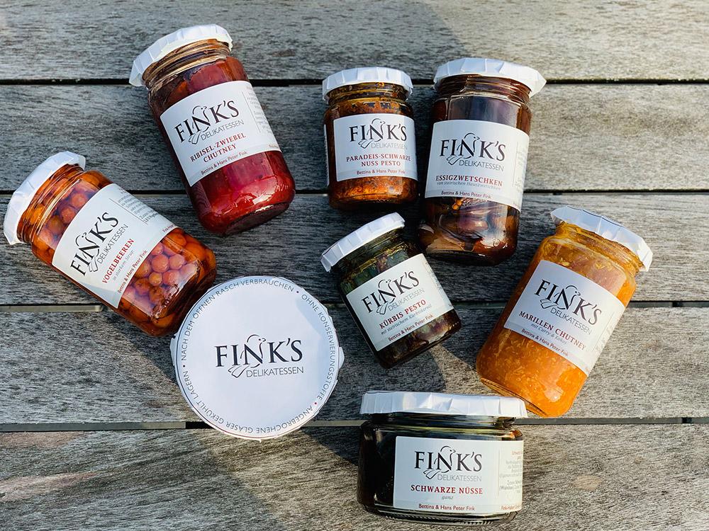 Finks Delikatessen Sortiment