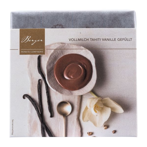 Berger Schokolade | Vollmilch Tahiti Vanille [FAIR]