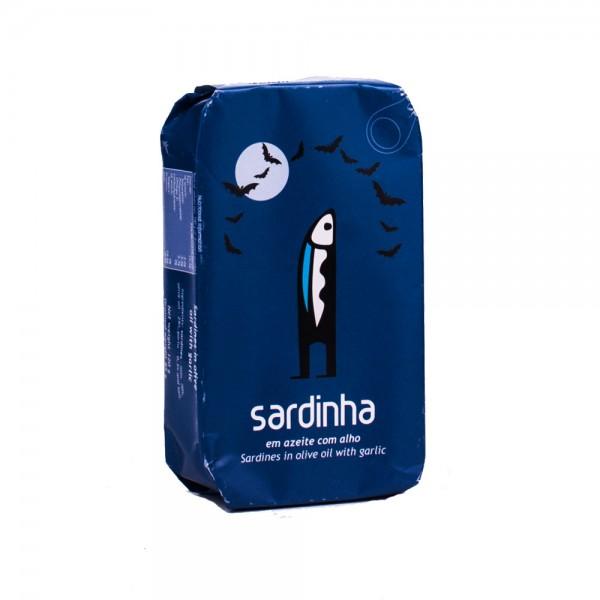 A Banca da Sardinha Sardinen in Olivenöl mit Knoblauch