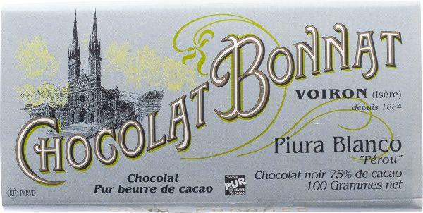 Bonnat Schokolade Piura Blanco 75%