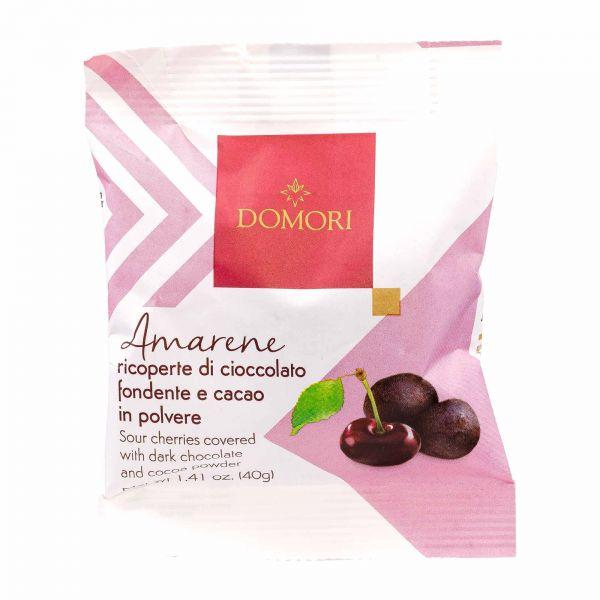Domori Schokolade | Amarenakirschen