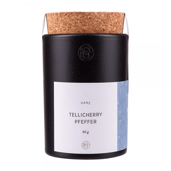 Pfeffersack und Soehne   Tellicherry Pfeffer in Keramikdose   60g