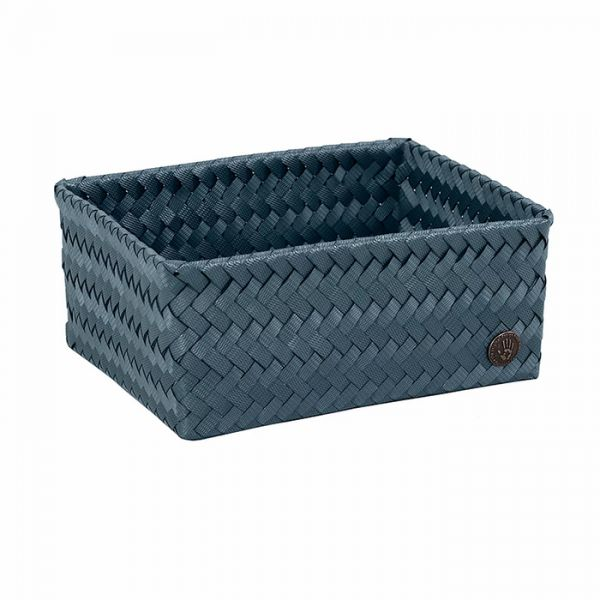 Handed By   Korb Fit Medium High   Steel Blue