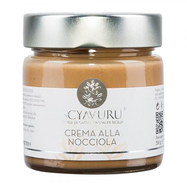 Scyavuru | Crema Nocciola | Haselnusscreme | 200g