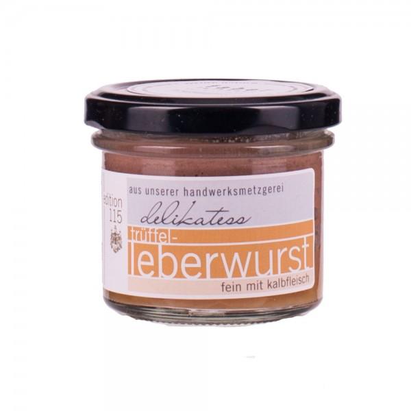 Faber Feinkost | Trüffelleberwurst mit Kalbfleisch | 100g