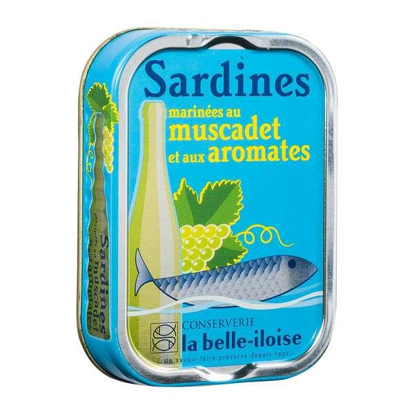 La belle-iIloise | Sardinen mit Muscadet Wein | 115g