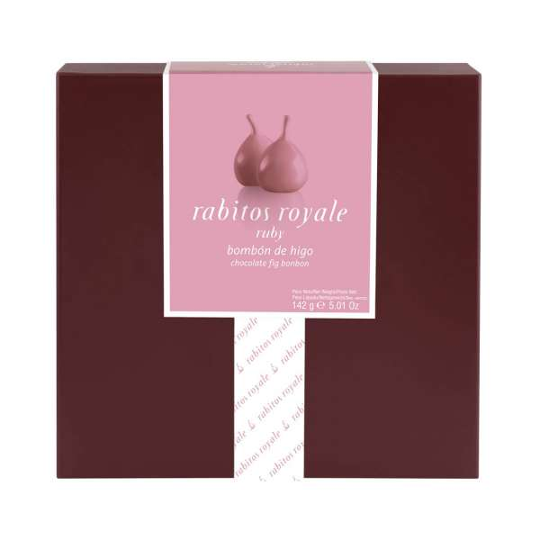 Rabitos Royale Ruby | Feigen Pralinen | 8er Box