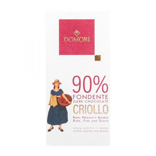 Domori Schokolade | Criollo 90% | 50g