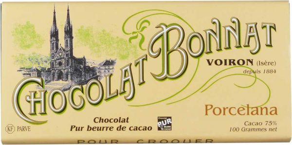 Bonnat Schokolade Porcelana 75%