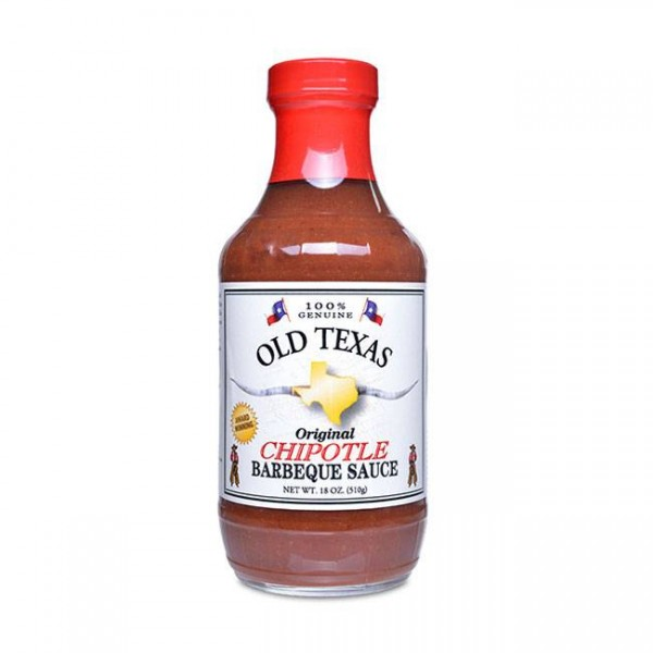 Old Texas | USA Chipotle BBQ Sauce | Grillsauce | 455ml