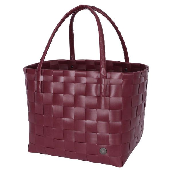 Handed By   Shopper Paris   Wine Berry Red
