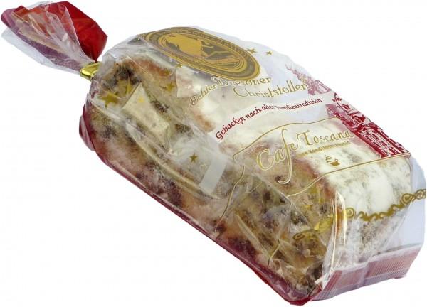 Bäckerei Eisold Echter Dresdner Christstollen Scheiben