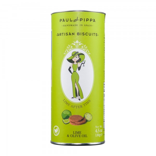 Paul and Pippa | Lime after Time | Zitronenkekse | 130g [BIO]