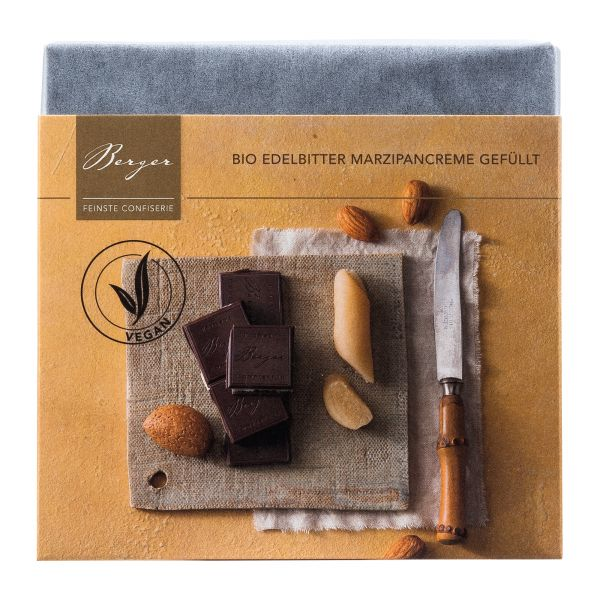 Berger Schokolade | Zartbitter Marzipancreme [BIO] [FAIR]