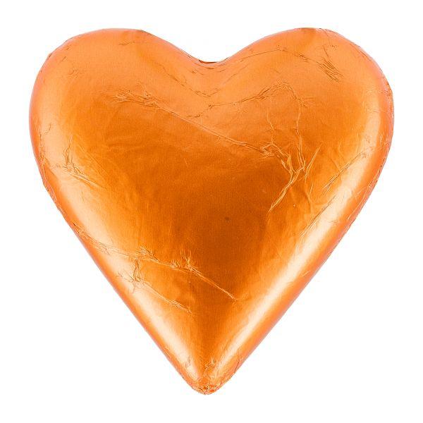 Fesey | Schokoladenherz orange | 50g