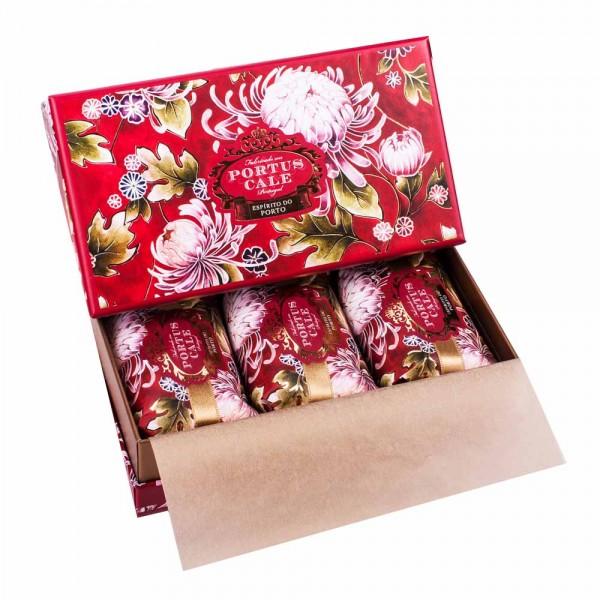 Portus Cale | Seife Noble Red Geschenkset