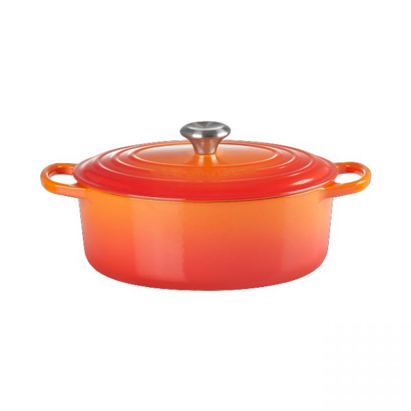 Le Creuset Bräter | oval ofenrot