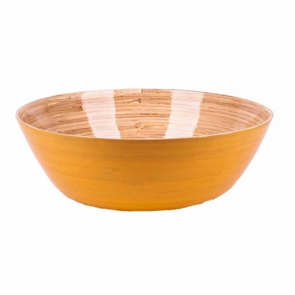 Albert L Schüssel Bambus 30x10 gelb