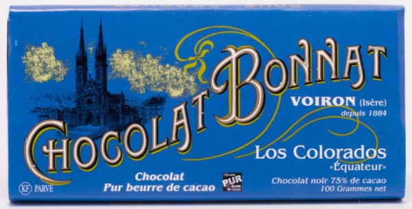 Bonnat Schokolade Los Colorados Equateur 75%