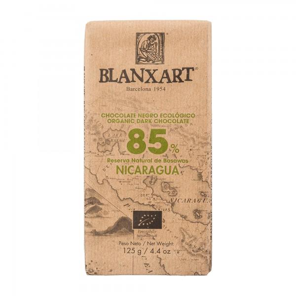 Blanxart Schokolade | Single Origin | Edelbitter Nicaragua 85% [BIO]