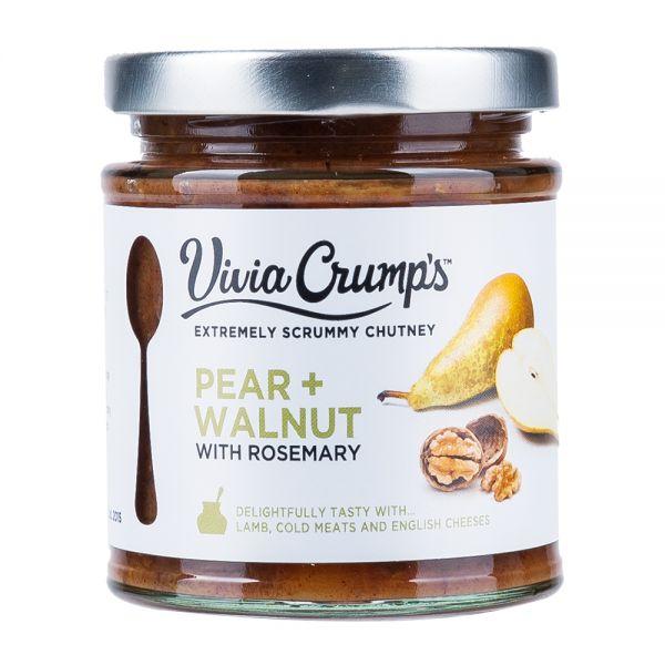 Vivia Crumps   Birnen Walnuss Chutney
