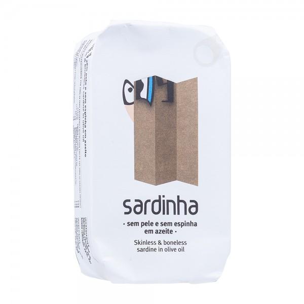 A Banca da Sardinha | Sardinen ohne Haut und Gräten in Olivenöl | 85g