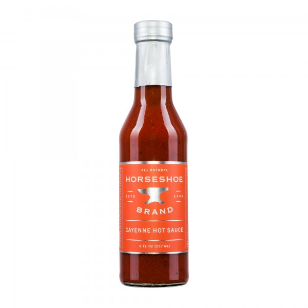 Horseshoe Brand | Cayenne Hot Sauce | Chilisauce | 237ml