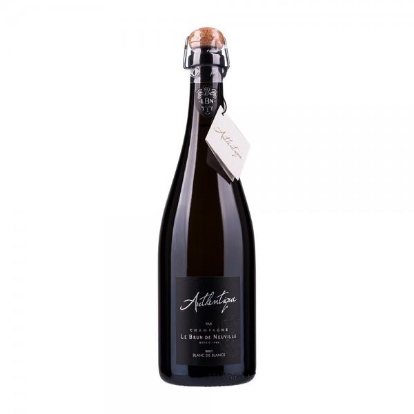Champagne Le Brun de Neuville   Authentique   Blanc de Blancs