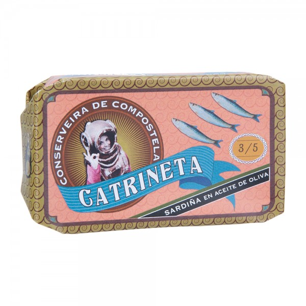 Catrineta Sardinen in Olivenöl