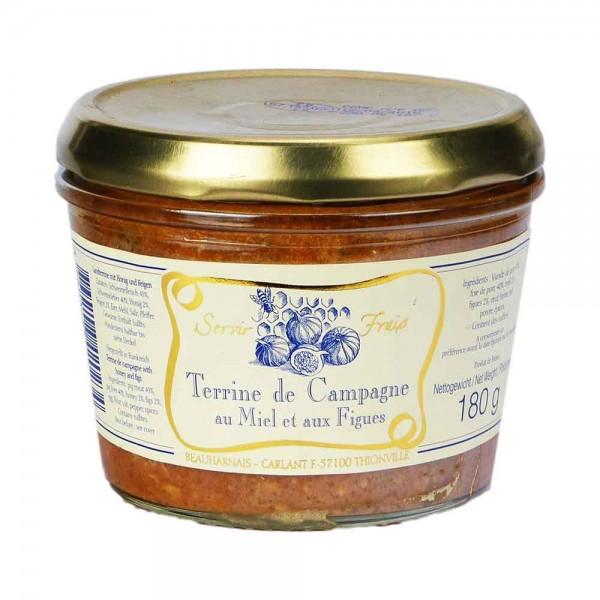 Beauharnais | Landpastete mit Honig und Feigen | 190g
