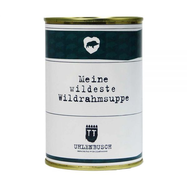 Manufaktur U | Wildrahmsuppe | 400g