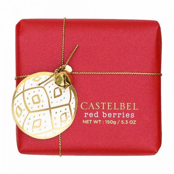 Castelbel | Duftseife | Red Berries mit Glöckchen | 150g