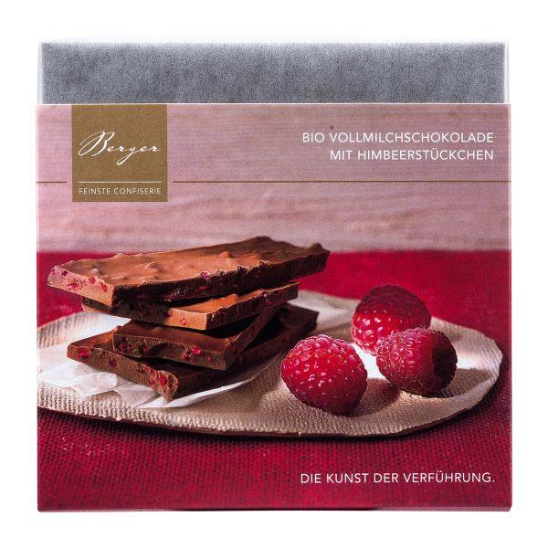 Berger Schokolade | Vollmilch Himbeerstückchen [BIO] [FAIR]