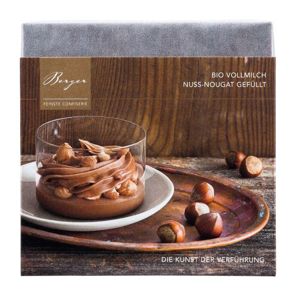 Berger Schokolade | Vollmilch Nuss-Nougat [BIO] [FAIR]