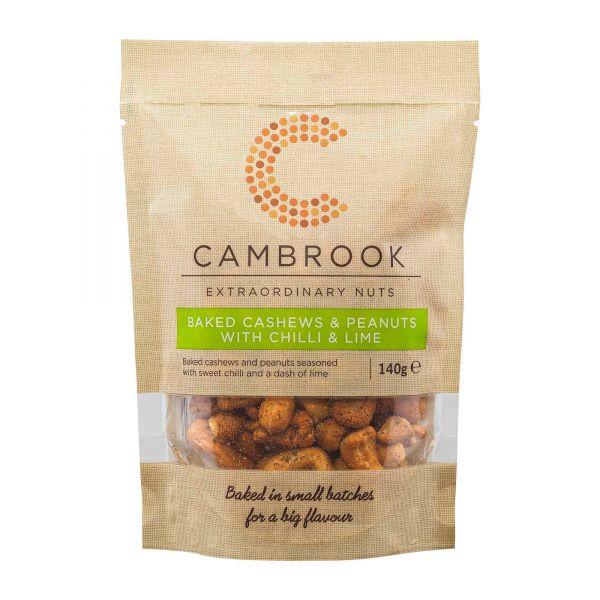 Cambrook | Cashew und Erdnüsse | Chili Limette