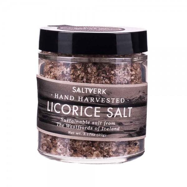 Saltverk | Licorice Salt | Lakritzsalz | 90g