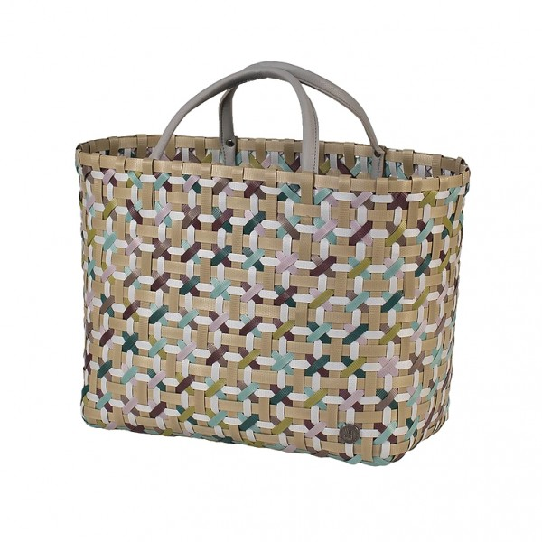 Handed By Blossom Shopper Multimix on Camel