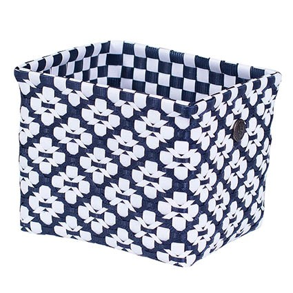 Handed By | Motif Basket | Navy M