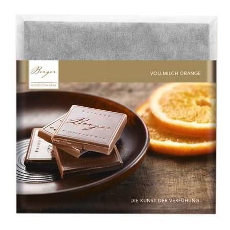 Berger Schokolade Vollmilch Orange [BIO] [FAIR]